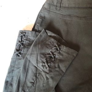 Style & Co Crop Pants Dark Green size 12 Misses